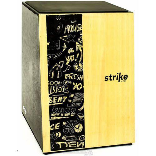 Cajón Fsa Strike Series Music Sk4001 Inclinado Acústico com Assento em E.v.a.