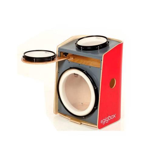 Cajon Gig Box Vermelho - GB VR