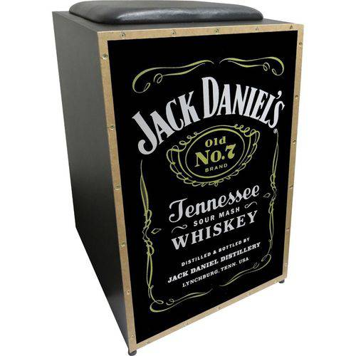 Cajon Jaguar Eletrico K2 Cor 008 Jack Daniels
