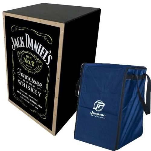 Cajon Jaguar Jack Daniels Cj1000 com Capa Bag Elétrico