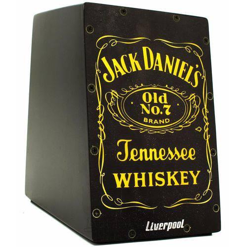 Cajón Mini Liverpool Jack Daniels Caj-jd Compacto com 20cm de Altura (crianças Adultos)