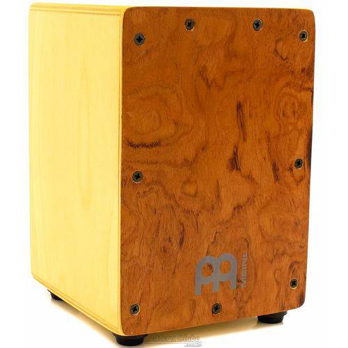 Cajón Mini Meinl Exotic Buginga em Birch Super Compacto com 22cm de Altura (crianças Adultos)
