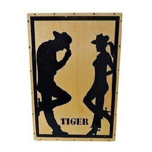 Cajon Tiger Acústico Cowboy