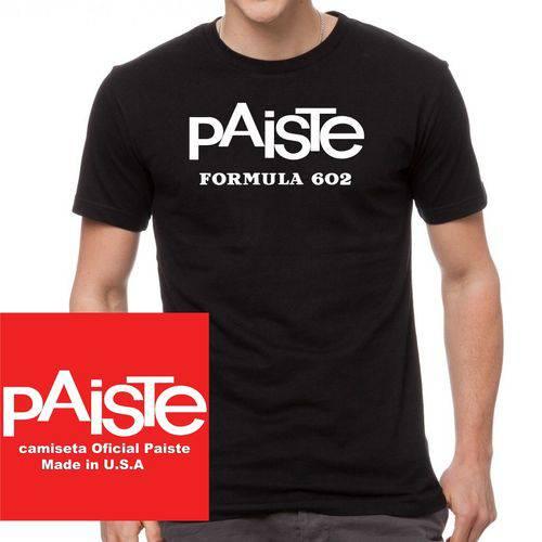 Camiseta Paiste Formula 602 Tamanho Grande