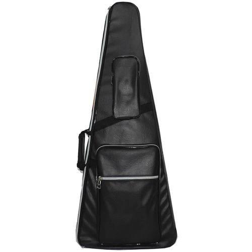 Capa Bag Acolchoada para Contra Baixo Couro Premium