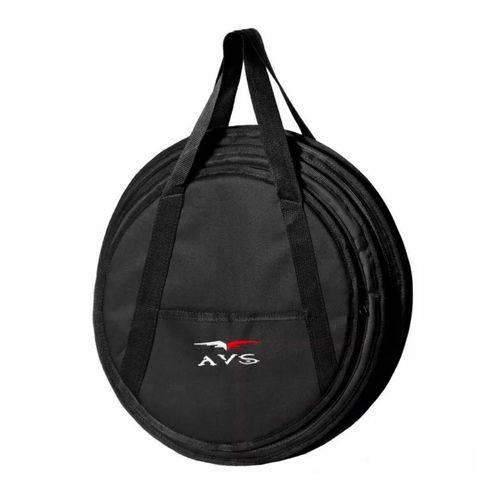 """Capa Bag Avs para Pratos de Bateria Até 20"""" Luxo Bip064sl"""