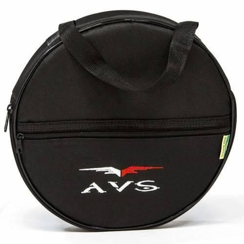 Capa Bag Avs Super Luxo para Pratos Bateria Acolchoado Alça