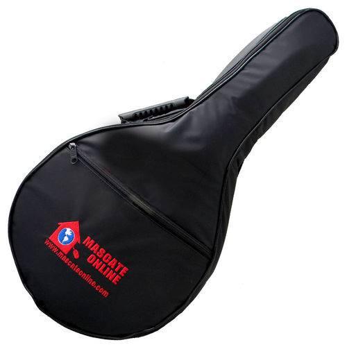 Capa Bag Banjo e Bandolim Luxo Acolchoada - Alça Mochila - Soft Case Nylon 70 Impermeável