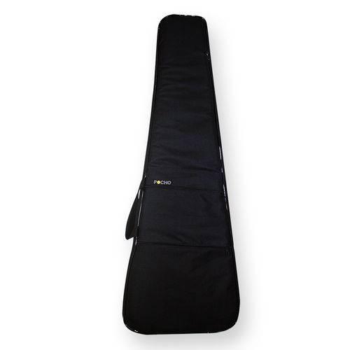 Capa Bag Case Guitarra Acolchoada Impermeável Extra Luxo - Bonga