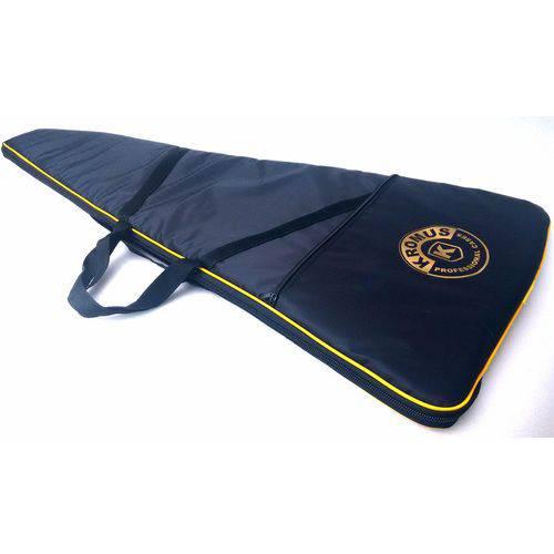 Capa Bag Case para Contra Baixo Almofadada Impermeável Kromus