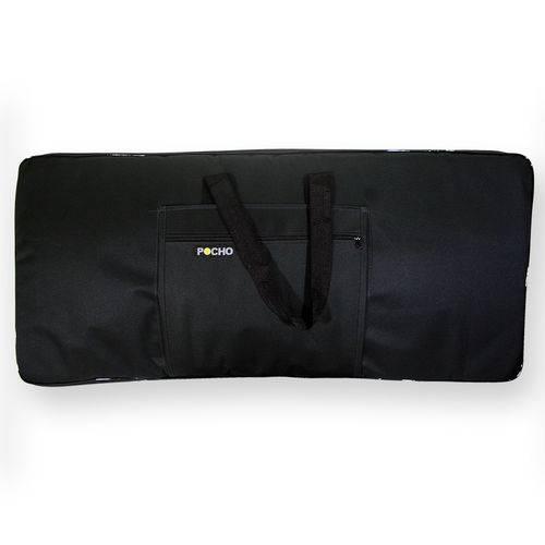 Capa Bag Case Teclado 5/8 Psr Acolchoada Impermeável Semi Luxo - Bonga