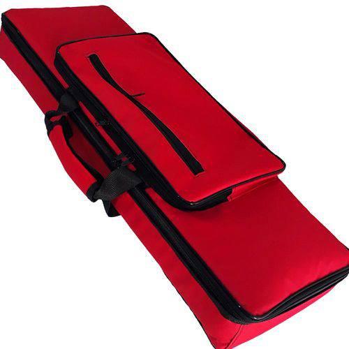 Capa Bag Exxtra Luxo Acolchoada para Teclado Korg X50