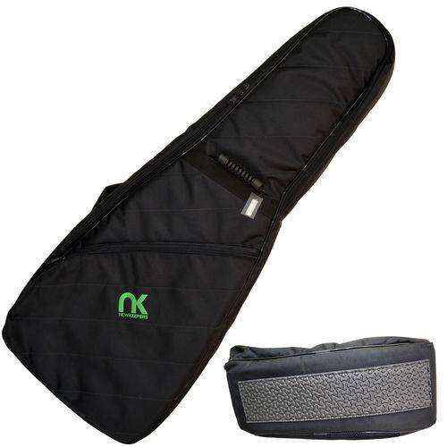 Capa Bag para Guitarra Maxipro Preto Super Proteção Newkeepers