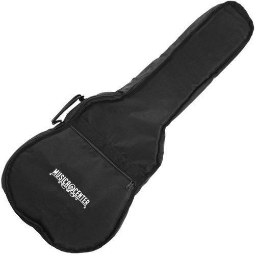 Capa Bag Violão Folk 12 Cordas Acolchoada C/ Alça Nylon 600