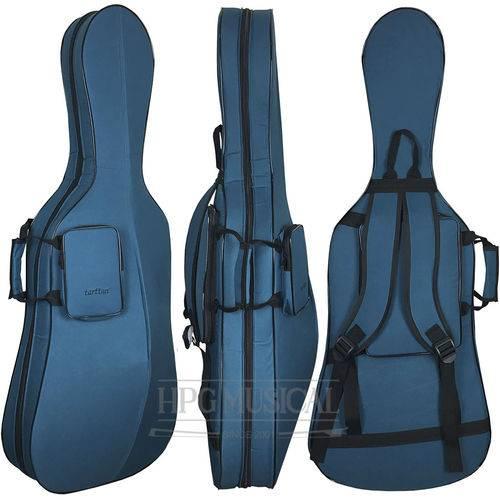 Capa Bag Violoncelo Tarttan Slim 4/4 Verde