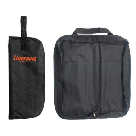 Capa Baqueta Liverpool Bag 03p Mod Simples Preto