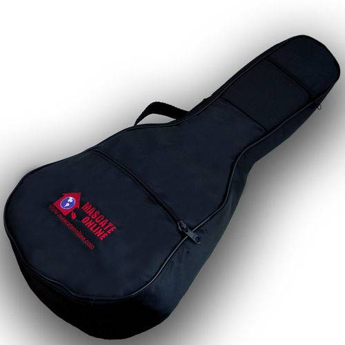 Capa Cavaco e Ukulelê Tenor Luxo Acolchoada Bag Soft Case