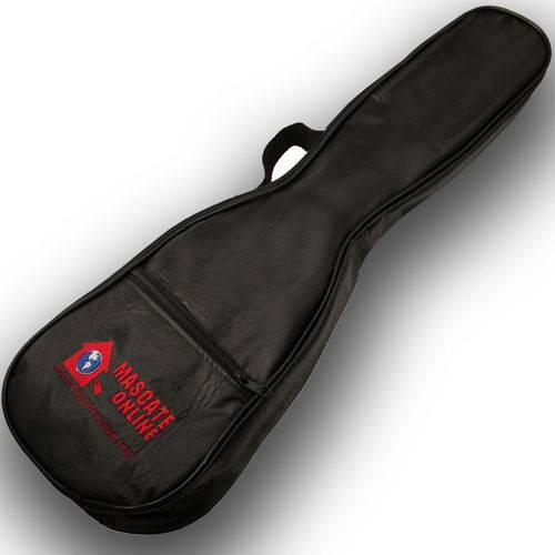 Capa Corino para Ukulelê Concerto com Alça - Bag Soft Case