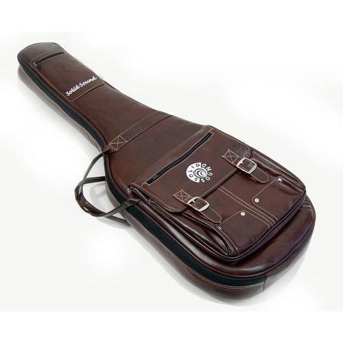 Capa de Couro para Guitarra Solid Sound Lt Vintage Marrom