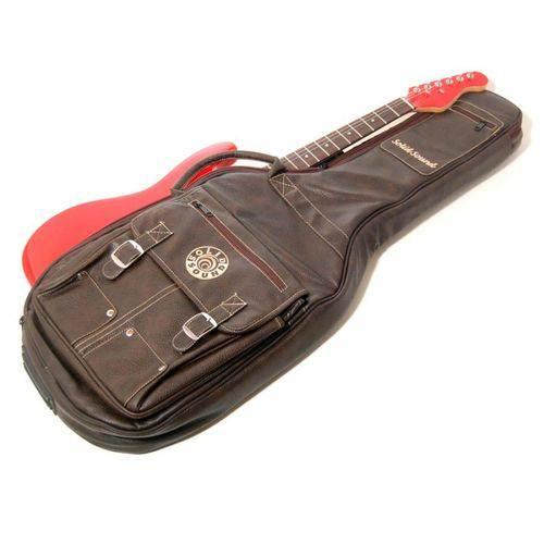 Capa Guitarra LT - Marrom - Solid Sound
