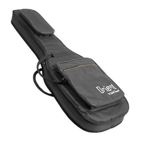 Capa Guitarra Solid Sound Orient Almof.formato Preta
