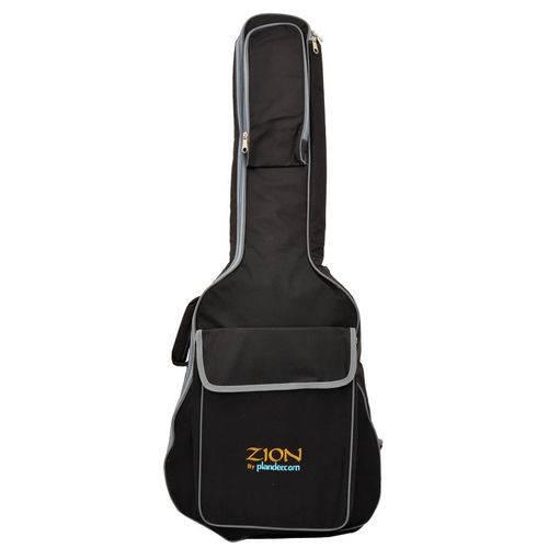 Capa Luxo Importada Zion By Plander Preta para Violão Clássico