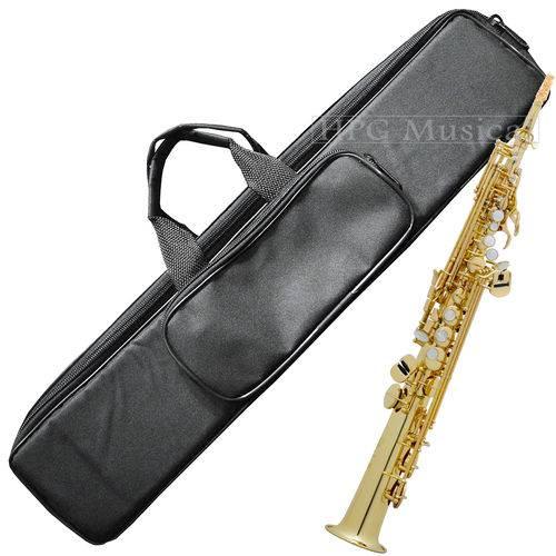 Capa Sax Soprano Reto Cs Extra Luxo