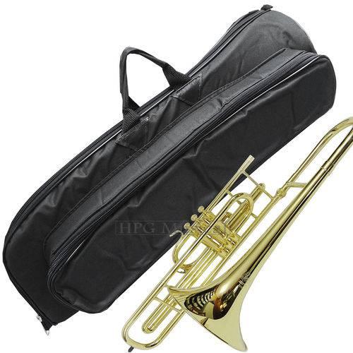 Capa Trombone de Pistos Curto Cs Extra Luxo