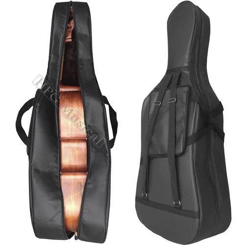 Capa Violoncelo 4/4 Tarttan Cello Luxo