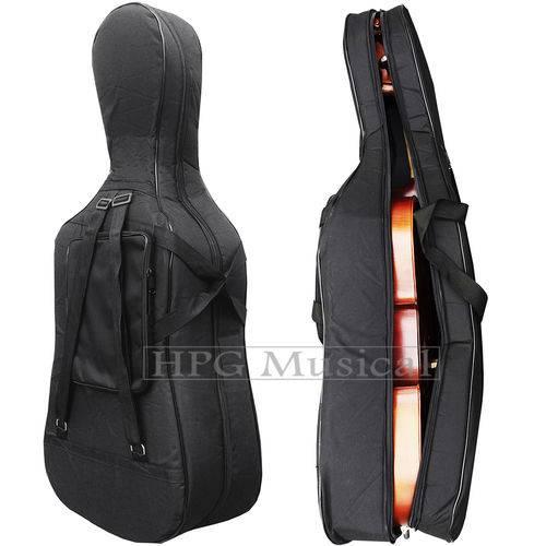 Capa Violoncelo 4/4 Tarttan Cello Extra Luxo