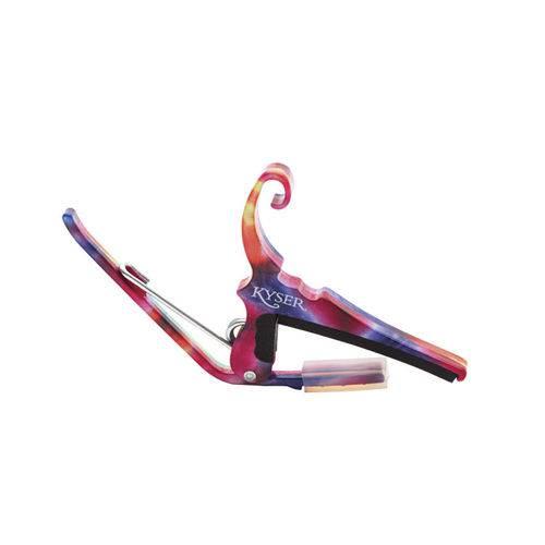 Capotraste para Violão de Aço Kyser KG6TDA Tie-Dye
