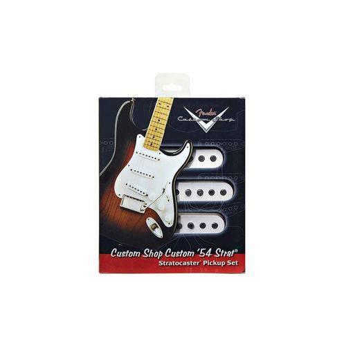 Captador Fender Guitarra Strato Cs Custom 54 Set 3