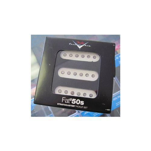 Captador Fender Guitarra Strato Cs Custom Fat 50s Set 3