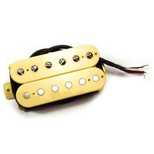 Captador Humbucker para Guitarra H Custom Bridge Cream/Cream D'Angelous - Santo Angelo