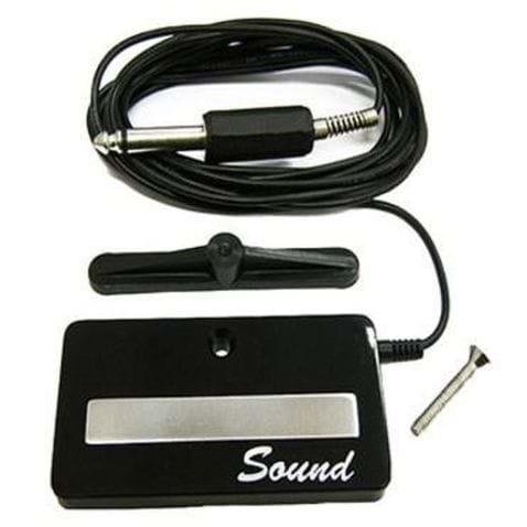 Captador Sound 2a P/ Boca Violao Aço ou Cavaco C/ Plug P10