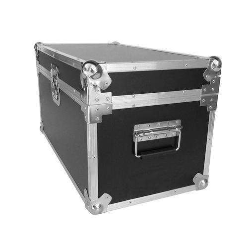 Case Baú para Acessórios 2B Box 60X40cm Preta e Cromada