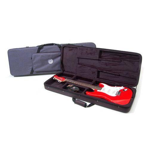 Case Foam Guitarra Preto Solid Sound