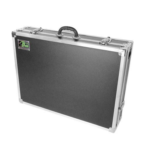 Case para Controladora Pioneer Ddj Rb e Ddj Sb3 2B Box Preta/Cromada