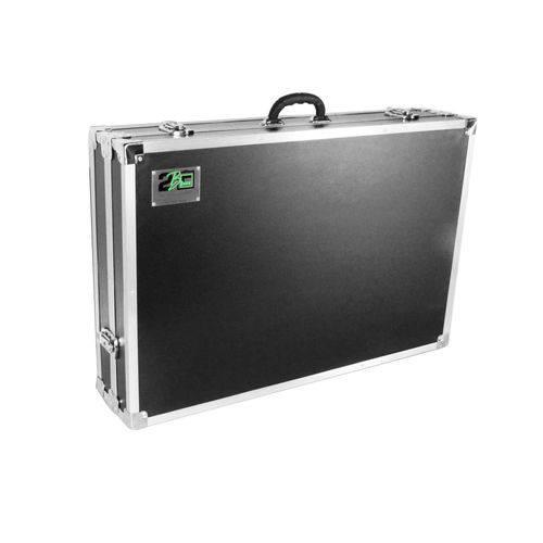 Case para Controladora XDJ RX 2B Box Preta e Cromada
