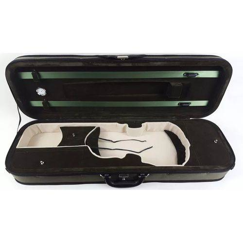 Case para Violino 4/4 com Higrometro em Oxford
