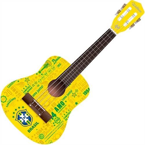 Cavaquinho Seleção Brasileira Amarelo Cvu-1/Cbf - Waldman