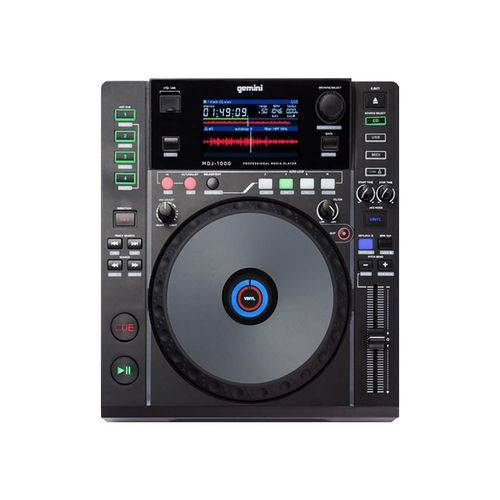 CD Player CDJ USB Gemini MDJ-1000