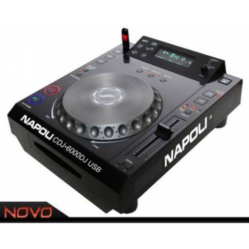Cd Player DJ Napoli Cdj-6000 Profissional para DJ