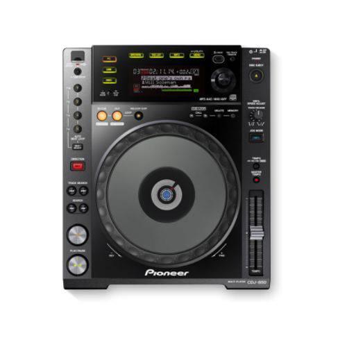 CDJ 850K Pioneer USB Rekordbox Black