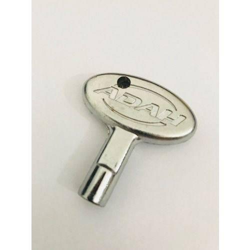Chave para Afinação de Bateria Adah Cromada Aca - 0339