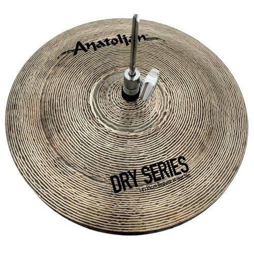 Chimbal Anatolian Dry Series Regular Hi-hat 14¨ Dark Slot Handmade Turkish