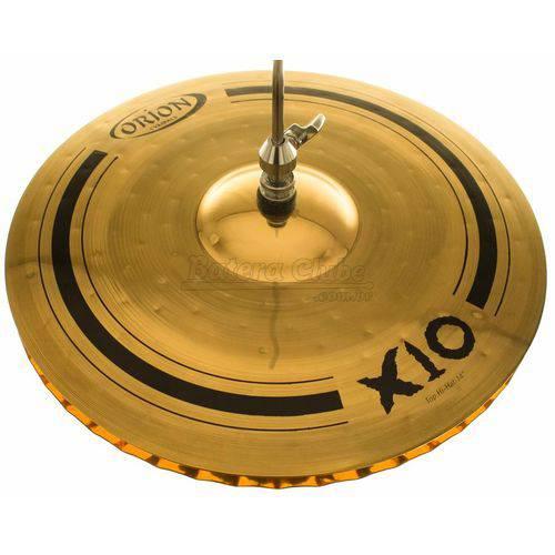 Chimbal Orion X10 Hi-hat 14¨ Spx14hh Mastersound em Bronze B10
