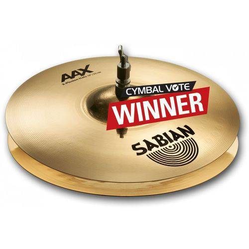 Chimbal Sabian Aax X-plosion 14¨ Campeão do Cymbal Vote
