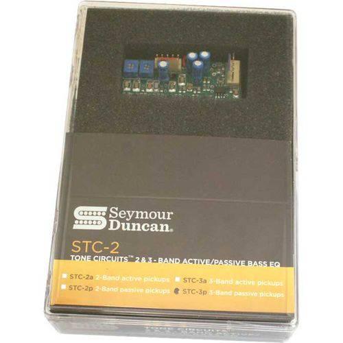 Circuito Pré-Amp Baixo Seymour Duncan Basslines Tone Circuit – STC-3P