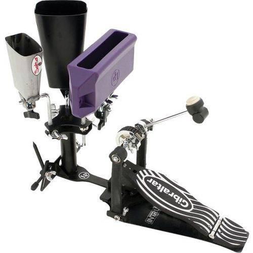 Clamp Lp Triplo Lp388m Gajate Bracket P/ Tocar Percussão C/ Pedal Modelo P/ 3 Instrumentos (023686)